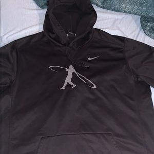 Black nike baseball hoodie!